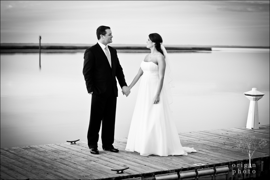 wedding black and white photograph