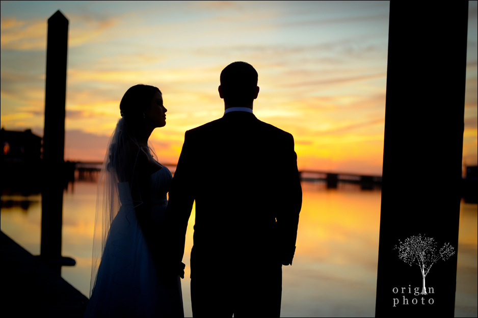 sunset wedding in Stone Harbor, New Jersey
