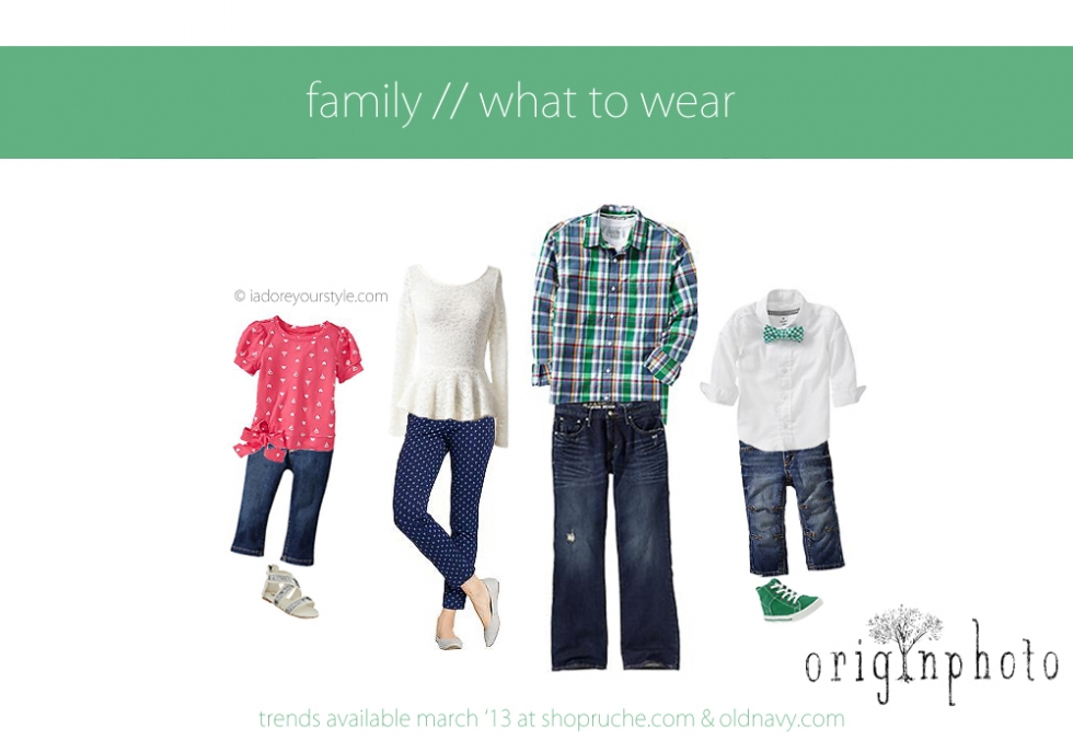 March 2013 what to wear Family