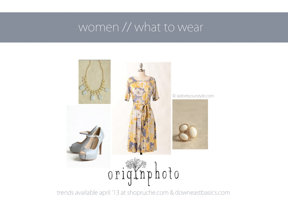 April 2013 what to wear women