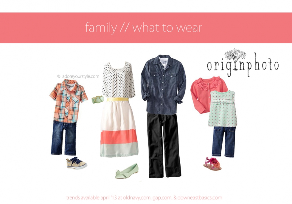 April what to wear family