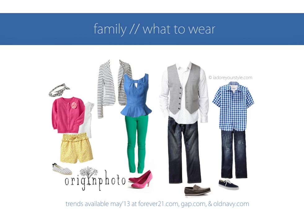 May 2013 what to wear Family